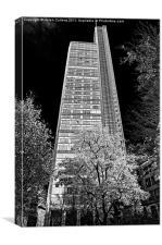 HERON BUILDING, Canvas Print