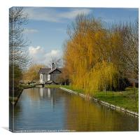 LOCK KEEPER'S COTTAGE, Canvas Print