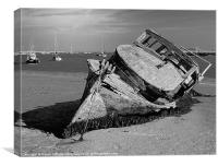 AT ORFORD, Canvas Print