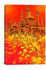 RED-HOT BRIGHTON, Canvas Print