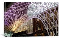 CONCOURSE KINGS CROSS, Canvas Print