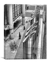 FROM THE LLOYDS LIFT, Canvas Print