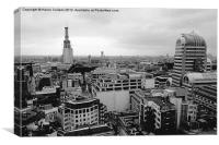 CITYSCAPE FROM THE LLOYDS BUILDING, Canvas Print