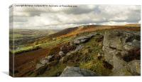 CURBAR EDGE 2, Canvas Print