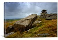 SHOWERY TOR                                , Canvas Print