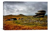 AROUND ROUGH TOR                                 , Canvas Print