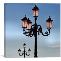 VENETIAN LAMPS                                    , Canvas Print