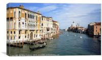GRAND CANAL VENICE                                , Canvas Print