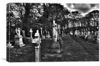 Grave Yard, Canvas Print