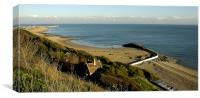 Folkestone Beaches, Canvas Print