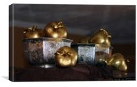 golden apples, Canvas Print