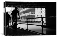 Camden Cyclists, Canvas Print