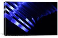 Indigo Blue, Canvas Print