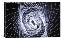 Triple Physiogram, Canvas Print