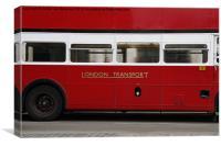 Routemaster Bus, Canvas Print