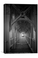 High Level Arches, Canvas Print