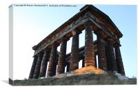 Penshaw Monument Portrait, Canvas Print