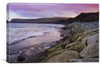 Robin Hoods Bay, Canvas Print