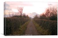 Bowes Path Home, Canvas Print
