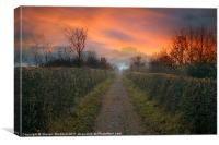 Bowes Path Home 2, Canvas Print