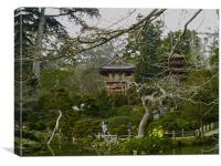 Japanese tea garden San Francisco, Canvas Print