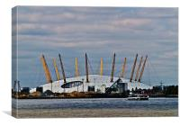 MILLENNIUM DOME, Canvas Print