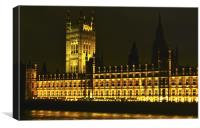 HOUSE OF PARLIAMENT, Canvas Print