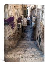 Dubrovnik skaline, Canvas Print