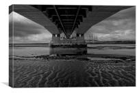 New Severn Bridge, Canvas Print