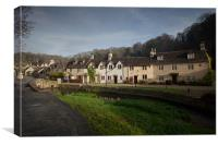 Castle Combe Village, Canvas Print