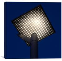 Street Light Emmerich Germany, Canvas Print