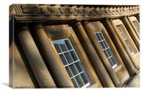 Bath Circus Architecture, Canvas Print