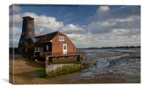Langstone Mill, Canvas Print