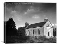 St Giles Church, Canvas Print