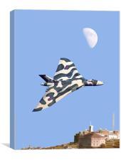 Vulcan Bomber Display, Canvas Print