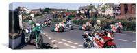 TT Race Road Safety image, Canvas Print