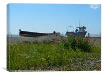 Boats, Beach and Grasses
