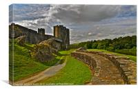 Caerphilly Castle Wales