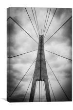 The Bridge, Canvas Print