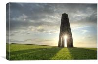 Daymark Sunrise, Canvas Print