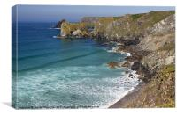 Glorious Cornwall, Canvas Print