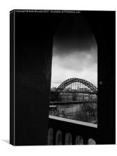 Tyne Bridge from High Level, Canvas Print