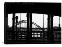 Iconic Tyne Bridge, Canvas Print