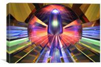 Macroscope XV, Canvas Print