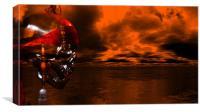 Pirate Storm, Canvas Print