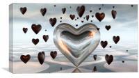 Hearts, Canvas Print