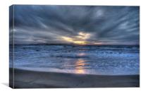 Sunset in San Stefano's, Canvas Print