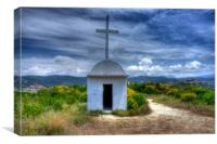 Church on the Hill, Canvas Print