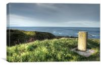 Cove Bay Coastal Path, Canvas Print