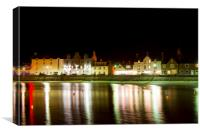 Stonehaven Harbour and Bars, Canvas Print